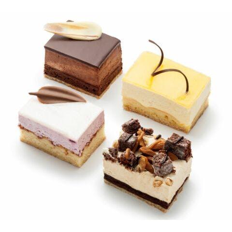 Luxe gebakjes 4 stuks