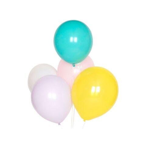 Ballonnenmix pastel 10 stuks