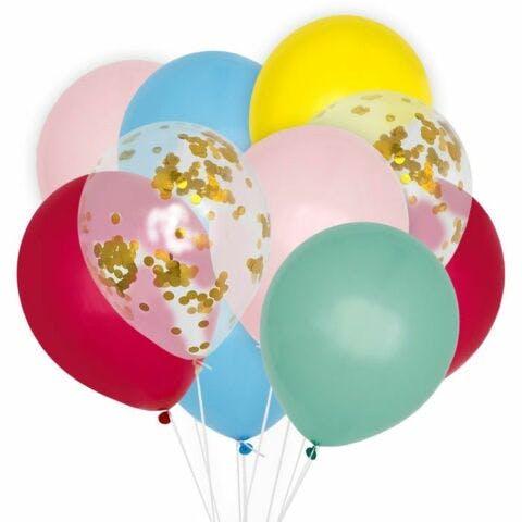 Ballonnenmix rainbow 10 stuks