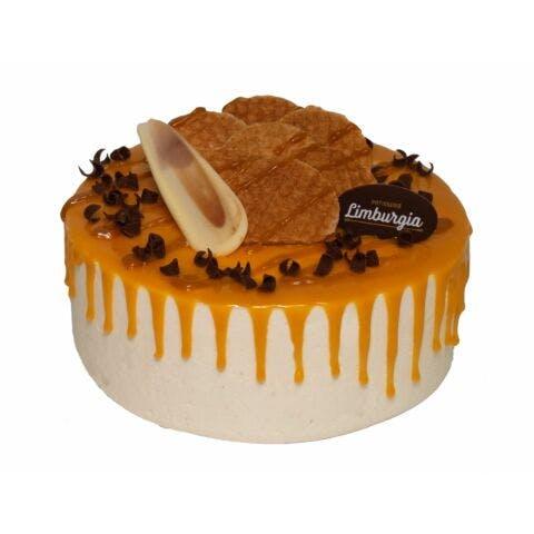 Stroopwafel drip cake