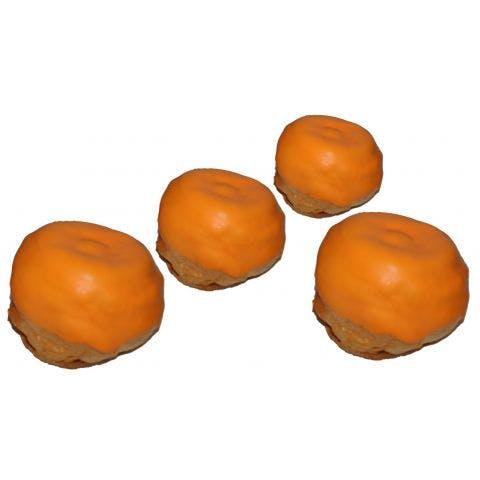 Oranje Bossche bollen 4 stuks