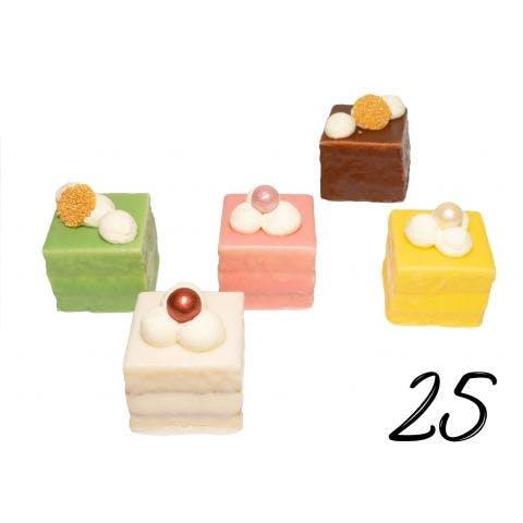 Petit Fours luxe 25 stuks