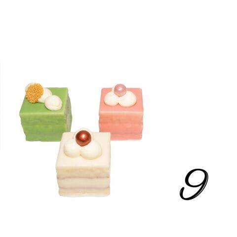 Petit Fours luxe 9 stuks