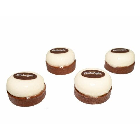 Chefs special witte chocolade framboos 4 stuks